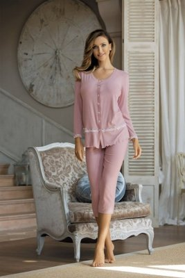 Babella Felicja Magnolia piżama damska