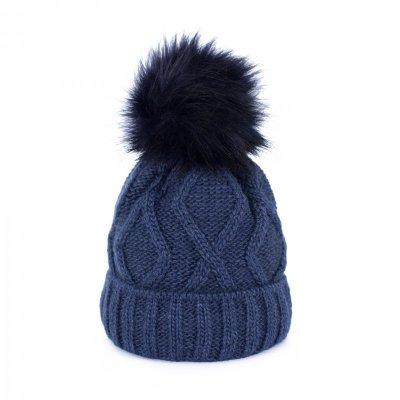 Art of Polo Nie zmarznij Granatowa czapka