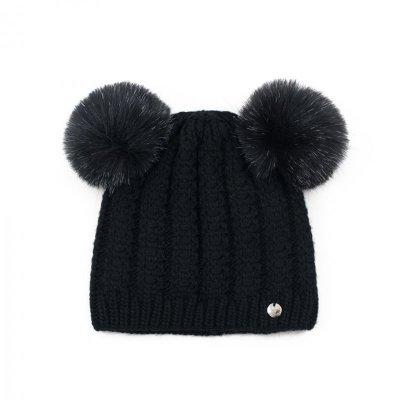 Art of Polo Little Bear Czarna czapka
