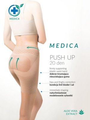 Gabriella Medica Push Up 20 den rajstopy