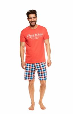 Henderson Jimmy 36827-32X Pomarańczowa piżama męska