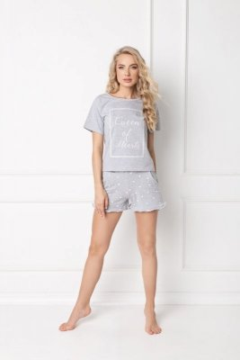 Aruelle Hearty Short Grey piżama damska