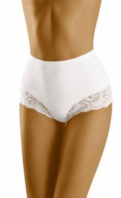 Wol-Bar Exepta Białe figi damskie modelujące