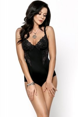 Gorsenia Livia G184 Czarne body damskie