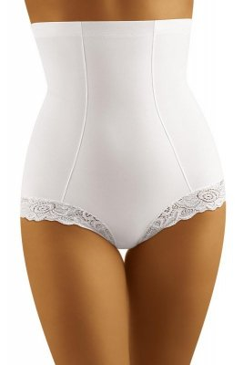 Wol-Bar Modelia Białe damskie figi korygujące