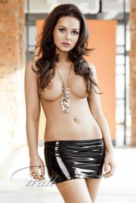 Irall  Desiree Czarna spódniczka mini