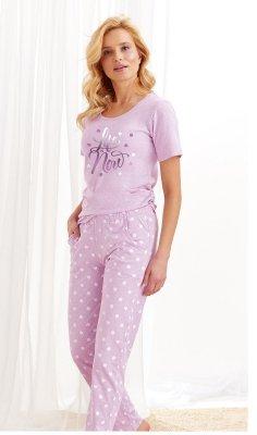 Taro Nadia 1190 AW/20 - Kolor 02 - Fioletowa piżama damska