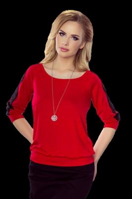 Eldar Fabia Czerwono-czarny bluzka damska