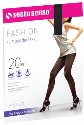 Sesto Senso Fashion 20 DEN F/02/20 Rajstopy damskie