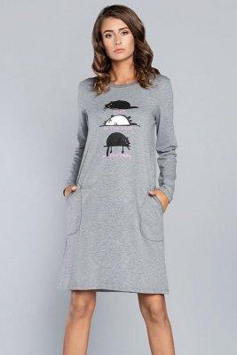 Italian Fashion Dima dł.r. damska koszula nocna