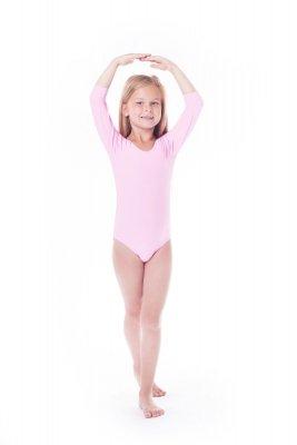 Shepa Body gimnastyczne lycra (B15) rękaw 3/4