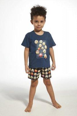 Cornette 790/76 young emoticon jeans piżama chłopięca