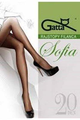 Gatta elastil sophia plus golden rajstopy