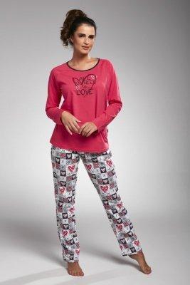 Cornette 145/164 all you need różowy piżama damska