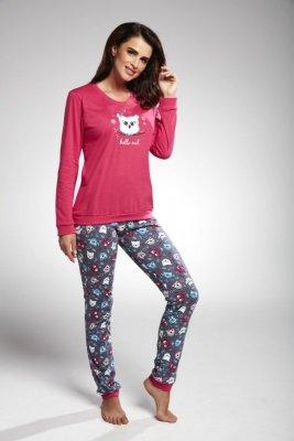 Cornette 683/170 owl różowy piżama damska