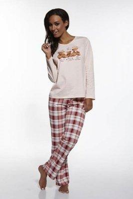 Cornette 655/10 Bears różowy piżama damska