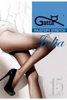 Gatta julia stretch 15 den plus lyon rajstopy