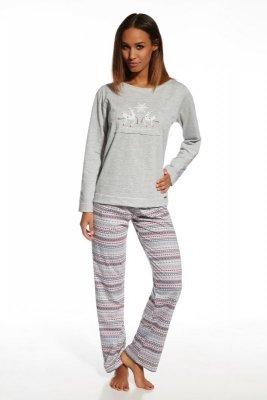 Cornette 655/105 Snowflake melanżowy piżama damska