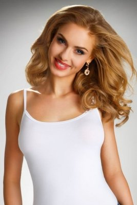 Eldar Lila  biały koszulka