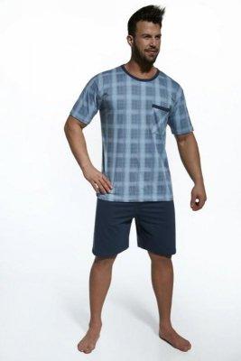 Cornette 312/08 kratka czarny piżama męska