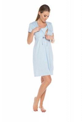 Italian Fashion Felicita niebieski koszula nocna