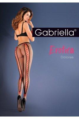 Gabriella 639 dolores nero rajstopy