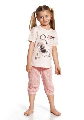 Cornette 571/46 I love summer różowy piżama dziewczęca
