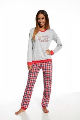 Cornette 671/122 Winter melanżowy piżama damska