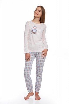Cornette 291/26 winter time różowy piżama dziewczęca