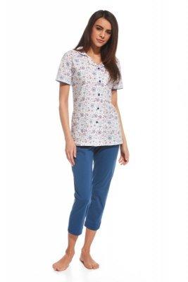 Cornette 696/108 Summer time 2 biały piżama damska