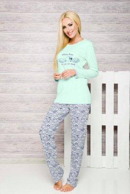 Taro Renata 885 miętowy piżama damska