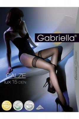Gabriella 202 lux 15 den nero pończochy