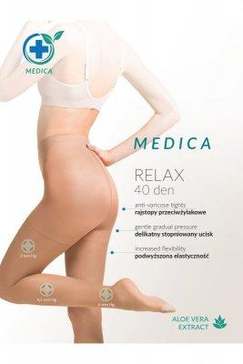 Gabriella relax medica 40 den plus beżowy rajstopy