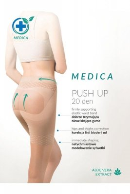 Gabriella 127 push up medica 20 den neutro rajstopy