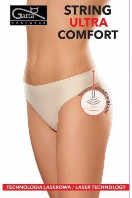 Gatta 1589s ultra comfort beżowy stringi