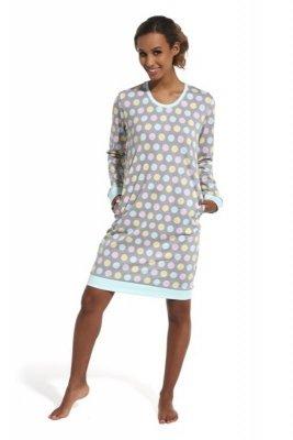 Cornette 652/150 Leslie szary koszula nocna