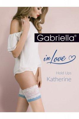 Gabriella 473 katherine natural/bianco/blue pończochy