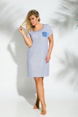 Taro 2190 Lucy 01 niebieski koszulka nocna