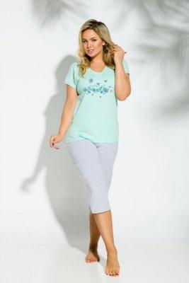 Taro 159 Sylwia 01 seledynowy piżama damska