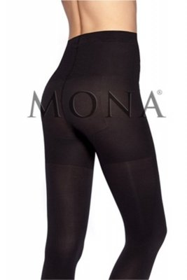 Mona micro push up 100 den plus nero rajstopy