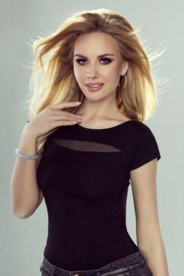 Eldar Gala czarny bluzka damska