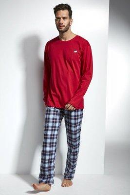 Cornette 124/116 Alaska 2 czerwony piżama męska