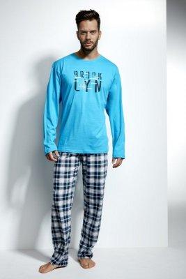 Cornette 124/107 Long island turkus piżama męska