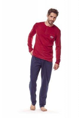 Henderson 36213 33x czerwony piżama męska