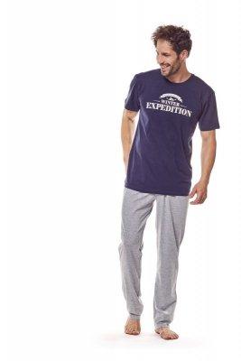 Henderson 36206 59x granatowy piżama męska