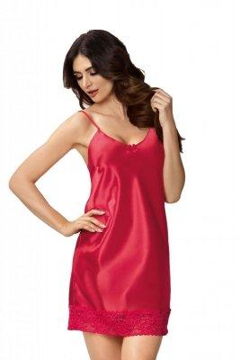 Donna Karen czerwona Koszula nocna