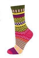 Soxo art.37878 kolorowe wzorki skarpetki