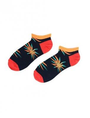 Regina Socks 0332 Bambus Męskie Wzór stopki