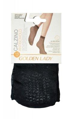 Golden Lady 16G Antiscivolo ABS 15 den A'2 2-pack skarpetki
