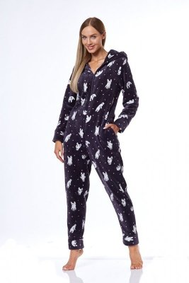 L&L 9151 K PRN Kombinezon piżama damska